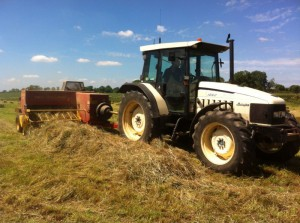 Newholland small conventional baler